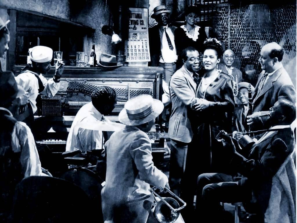 Louis Armstrong kıskacında Billie Holiday (1946, New Orleans)