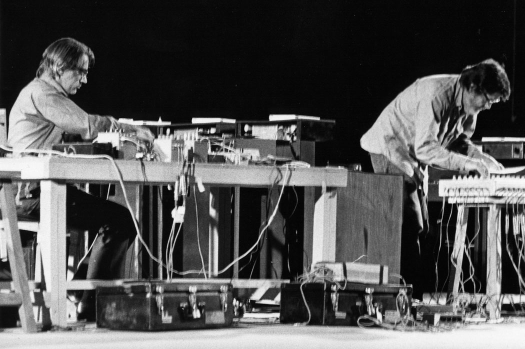 David Tudor ve John Cage, Shiraz Festivali, 1971